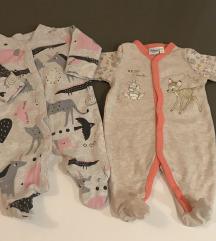 NEXT i Disney pidžamica za tek rođene bebe 50/56