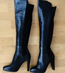 Stuart Weitzman Highline Black Nappa čizme