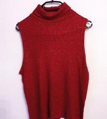 Crvena majica sa sjajnim nitima