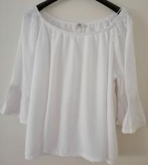 Bijela bluza off sholder