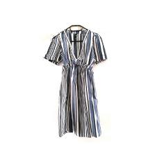 Zara prugasta haljina (pt gratis)