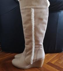 Sisley čizme brušena koža