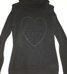 Lot 2 crne majice / M-L  NOVE