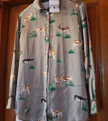 Satenska košulja Zara