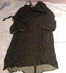 Zara mini točkasta haljina M