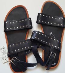 Sandale 100% koža, novo