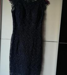 Haljina plava čipka