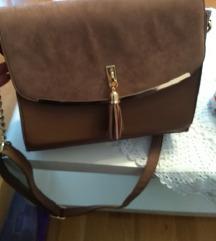 SNIZENO Nova deichmann smeđa torbica