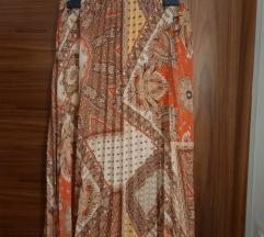 Zara suknja plisirana ljetna M