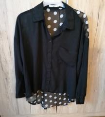 Crna točkasta košulja L/XL/XXL 20 kn