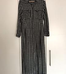 ZARA karirana haljina - M