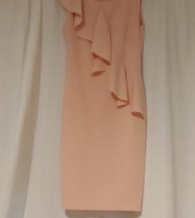Puder roza svečana haljina 34/36