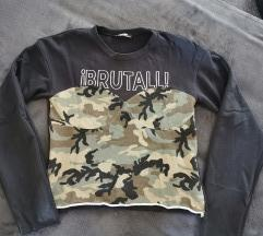 Zara majica s vojničkim uzorkom
