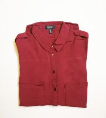 Bershka bordo košulja