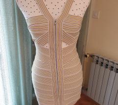 Uska mini haljina (Herve Leger imitacija)