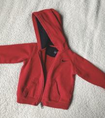 Nike crveni hoodie za bebe 18mj