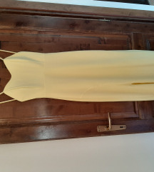 Svečana žuta haljina