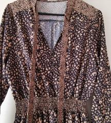 Haljina leopard uzorka S