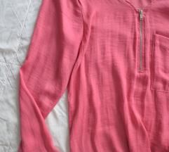 Roza bershka bluza