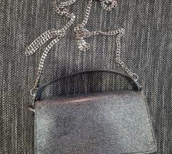 Zara glitter torbica