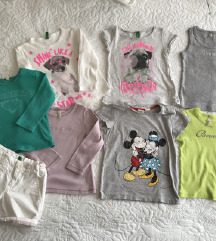Benetton lot 12-18 mj+poklon šilterica