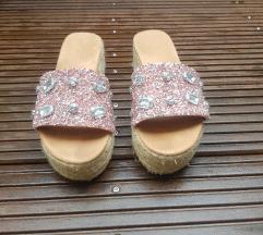 Sandale slapice plutarice sa sljokicama