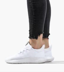 Adidas tubular shadow all white br 38