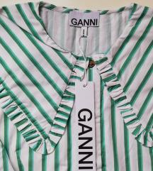 NOVA HIT like Ganni košulja s etiketom
