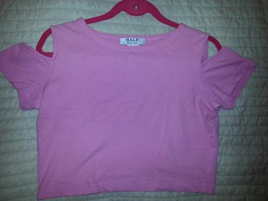 Majica svjetlo roza