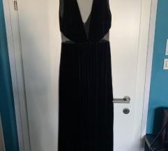 Mango duga velvet haljina