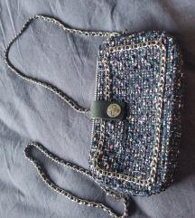 zara tweed torbica