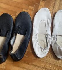 Dva para baletnih papucica