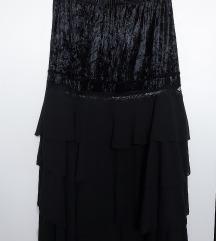 Crna duga suknja 38