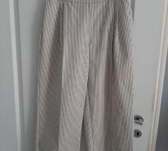 Zara široke hlače na prugice
