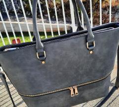 Sivo-plava torba