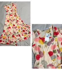Cvjetna haljina Mango