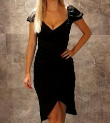 Bodycon haljina na preklop, S/M/L