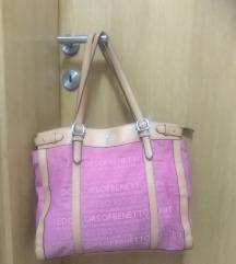 Benetton torba rozo smeđa