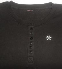 crna elastična majica za curicu 146