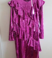 Šljokičava haljina Asos