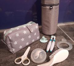 Set za njegu bebe i termo torbica za bočicu - NOVO