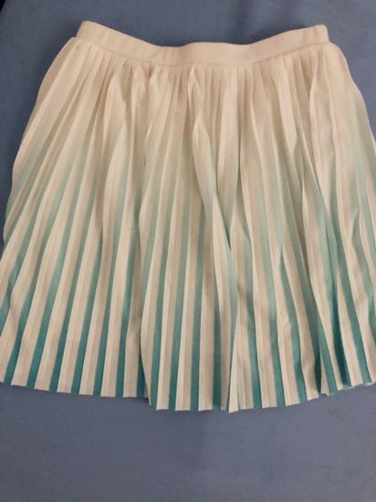 Mango plisirana suknja ombre efekt