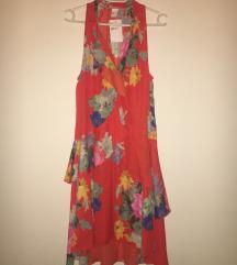 % % sada 40 kn % % HM nova cvjetna haljina xs