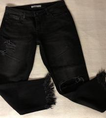 Zara Denim ripped jeans