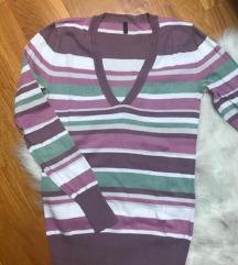 🏳️🌈BENETTON 🏳️🌈šareni pulover na pruge