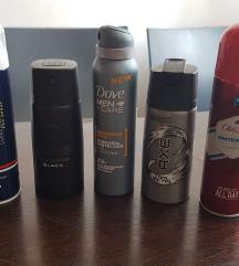 Lot muskih dezodoranasa