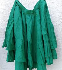 Urban Republic NOVA zelena suknja