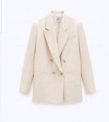 Bijeli oversize sako