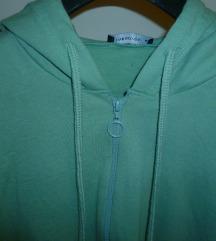 Svjetlo zeleni gornji dio trenirke