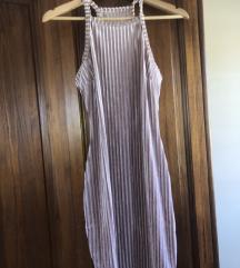 Plišana usla haljina